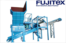 Plastic , Wood , Paper , Waste , all crushing machine tire shredder waste tyres recycling machine made in japan