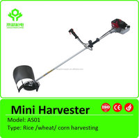 Mini small rice paddy harvester/rice paddy cutting machine