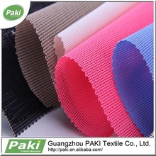 wholesale strong polyester beach mesh fabric textile for chair, shoes