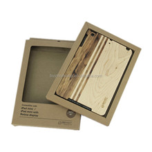 High Quality Factory Price Wooden Back Cover Case for iPad mini 2
