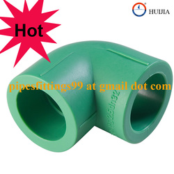 Hot-sale PPR pipe and fittings, PPR ELBOW 90 degree 25mm PN25