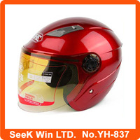 Motorcycle helmets with sun visor open face helmet YH-837
