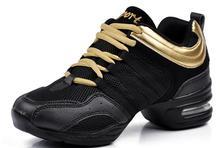 moda zapatillas de baile de calzado de el zapato de deporte aumentado transpirable suave fondo de baile zapatos zapatillas