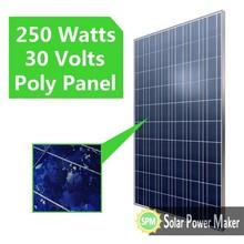 250w Solar Modules PV Panel Solar Panel for Air Conditioner 280watts Solar Panel Price