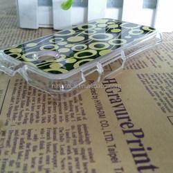 New model 3D sublimation mobile case/covers for motorola MOTO E cell phone case