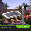 2015 New super bright 2.5W 250LM home led solar security lights for outdoor garden wall pathway street