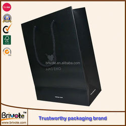 popular paper shopping bag/paper shopping bags free shipping/reusable shopping bags