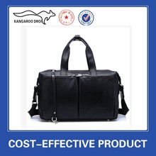 New Fashion China Manufacture leather duffle bag