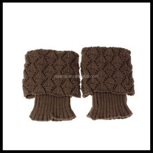 2015 Vogue crochet knitting rain boot cover snow cover