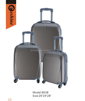 Carry On Abs Trolley Case Hard Suitcase Set With Combination Lock