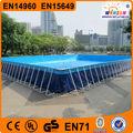 winsun marque de haute qualité rectangulaire 12x36 châssis métallique piscine