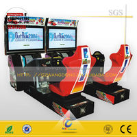 Amusement electric simulator arcade racing car game machine play game car racing
