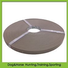 Plastic PVC coated webbing for making dog collar and leash