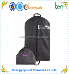 china supplier high quality garment packing bag price, foldable garment cover