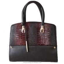 best selling lady leather handbag customized good quality