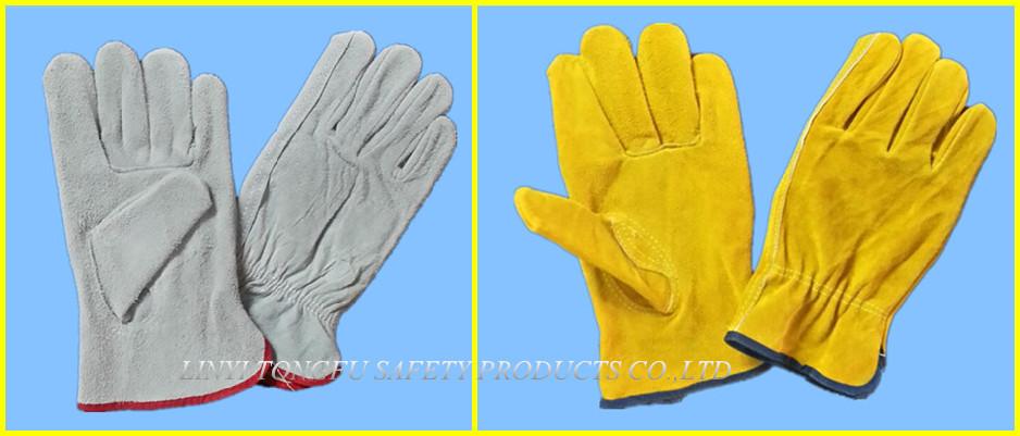 70g 흰색면 니트 장갑 노란색, 블루, 검은 색 붉은 색 PVC 점선/ 면 ...