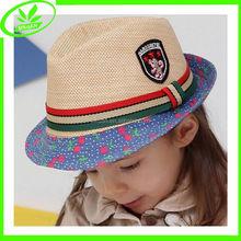 New fashion girls straw cap panama hat