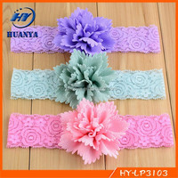 Baby Girls Cute Lace Baby Infant Hairband Kids Hair Accessories Elastic Headband