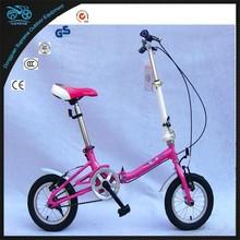 MOUSE Kubao china folding bike 12 inch steel bicycle kids cheap folding bike good quality folding bike