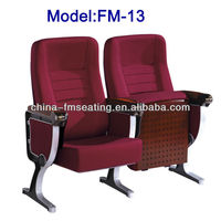 Foshan Shunde theater seating chair with retractable tablet