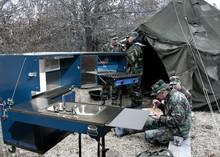 militar de campo móviles cocinas