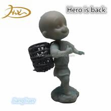 China de Fábrica Personalizada Hecha A Mano Escultura Monje