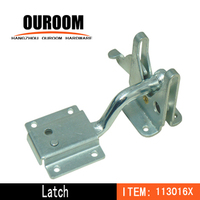 Stainless steel gate latch