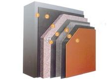 Placa de ouro fino gesso externo sistema de isolamento e a integração de isolamento decoração de tabuleiro