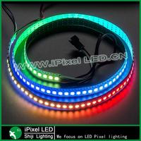 addressable magic rgb ws2812b led pixel strip waterproof 144 leds/m