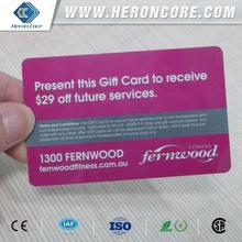Bottom price Crazy Selling branded 125khz lf iso14443a/b pvc card