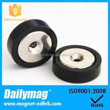 Chromium Plated Super Strong Neodymium Countersink Magnet