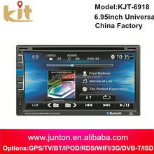 2015 Fast delivery in dash 6.2inch dvd player from shenzhen factory