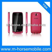 Latest small size dual sim gsm digital tv mobile phone