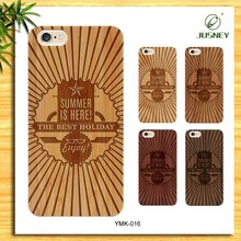 Top phone accessories,cheap silicon + real wood case for iphone 6