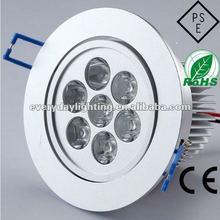 7W high power LED downlight