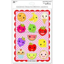 Hot selling puffy sticker cute cartoon stickers cartoon characters sticker