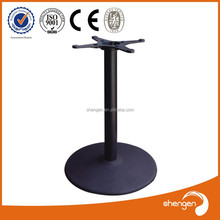 custom wrought iron glass top stone decorative furniture table base