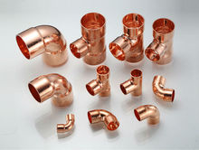 Different copper fittings for ac