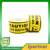 Ipartner New fashion caution yellow tape adhesive backed foam rubber