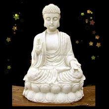 Natural stone buddha decoration statue for sale