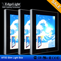 Edgelight AF50A waterproof outdoor picture frames with lock single side