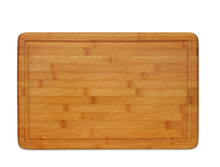 18x12 Thick with Drip Groove Extra Large Stronge Bamboo Wood Cutting Board