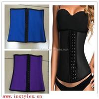 lingerie Ann Chery Style Black Latex Waist Trainer xxx movies