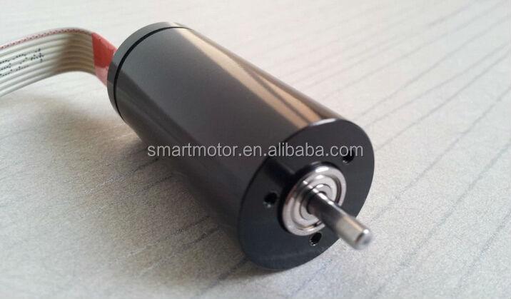 22mm High Speed Coreless Brushless Dc Motor 6v 12v 24v