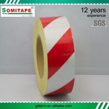 Acrylic Gule PVC Self Adhesive Tape For Warning And Alerting Use