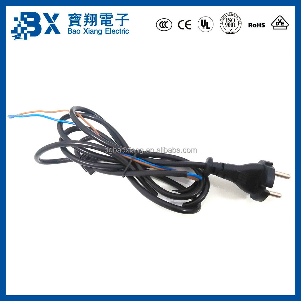 Cords For Electric Power Tools : Vde approval european pin plug electric power tool cord