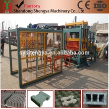 QT4-20 semi automatic hydraulic hollow block machine/buzlana blocks making machine/ribs hollow block making machine