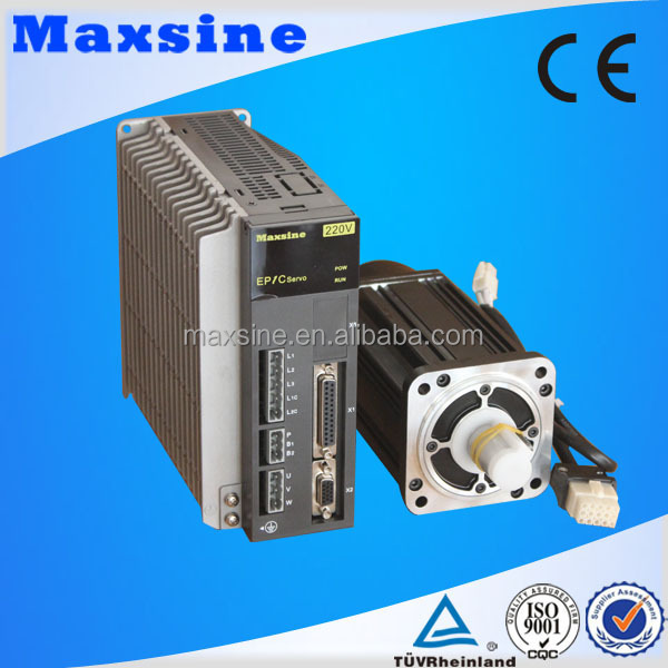 Industrial sewing machine servo motor and servo driver for Industrial servo motor price