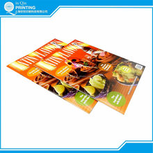 full color art paper A4 magazine printing