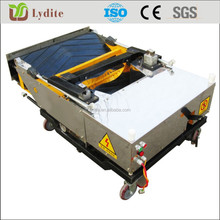 High performance auto wall plastering machine for buildings render
